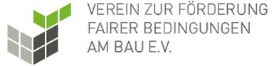 Logo Verein zur Förderung fairer Bedingungen am Bau e.V.